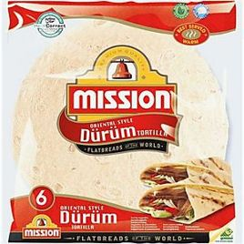 Mission durum tortilla 25cm 6/1 370g